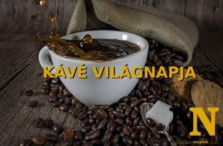 Szeptember 29 – a kávé világnapja